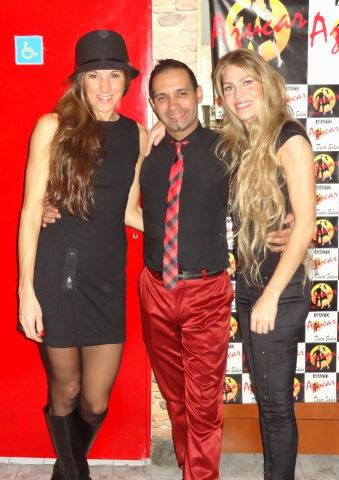 charly y 2 chicas